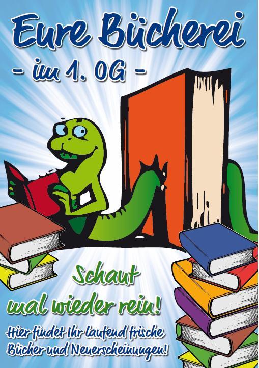 Plakat Schülerbücherei